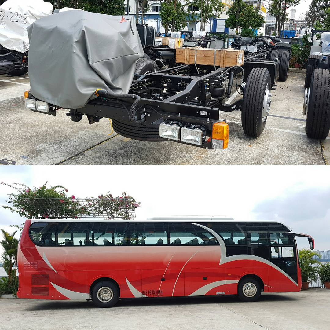 After several months, a newborn bus has been delivered smoothly #isuzu #newbus #ebus #ebus_express